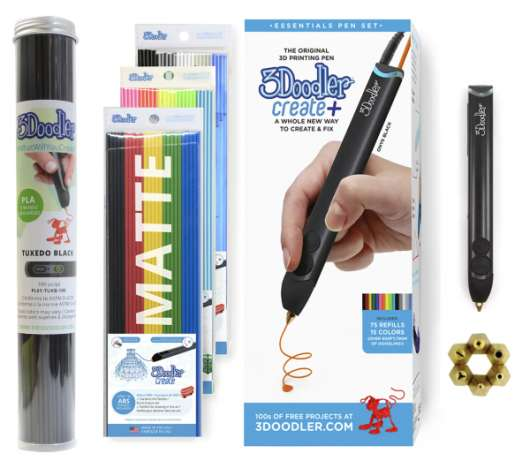 3Doodler Create+ 3D Printing Pen Bundle