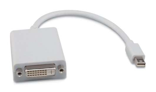 Adapter Mini-displayport till DVI-D