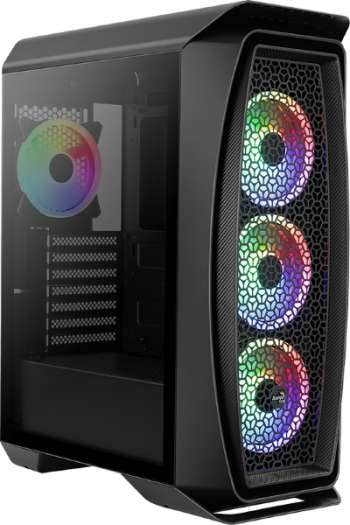 Aerocool One Duo / A-RGB / Tempered Glass  - Svart