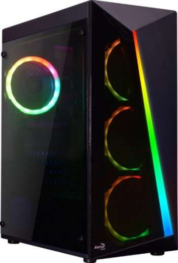 Aerocool Shard / A-RGB / Tempered Glass