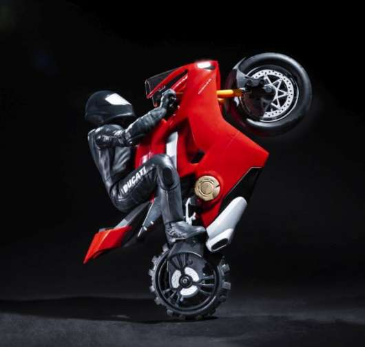 Air Hogs Upriser Ducati Panigale V4 S RC Stunt Bike