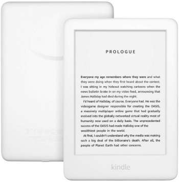 "Amazon All-new Kindle Frontlight 10th gen 6"" With Special Offers 8GB White (Fyndvara - Klass 1)"