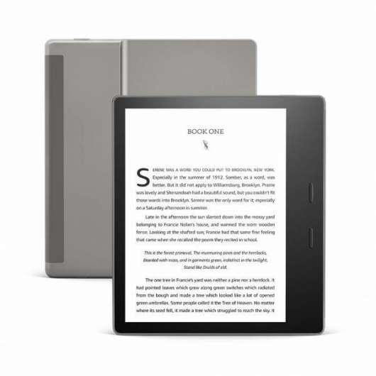 "Amazon All-new Kindle Oasis 3rd gen. / 7"" / With Special Offers / 32GB - Black (Fyndvara - Klass 1)"