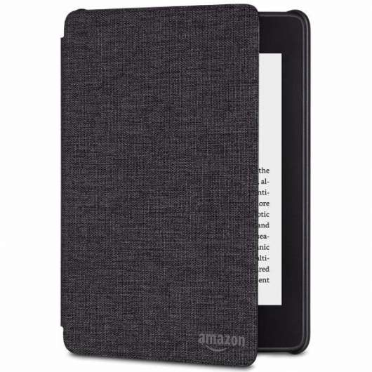 Amazon All-new Kindle Paperwhite 4th gen. Fabric Cover - Charcoal Black (Fyndvara - Klass 1)