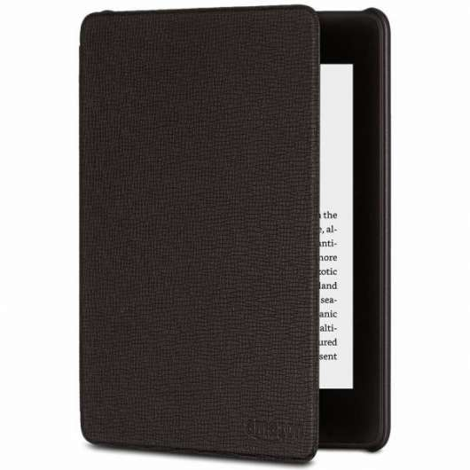 Amazon All-new Kindle Paperwhite 4th gen. Leather Cover - Charcoal Black (Fyndvara - Klass 1)