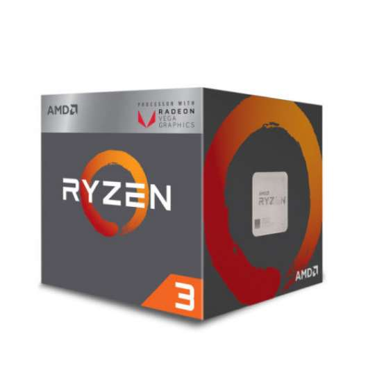 AMD Ryzen 3 3200G with Radeon™ Graphics / 4 cores / 4.0 GHz