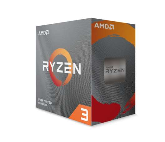 AMD Ryzen 3 3300X  / 4 cores / 8 threads / 4.3 GHz