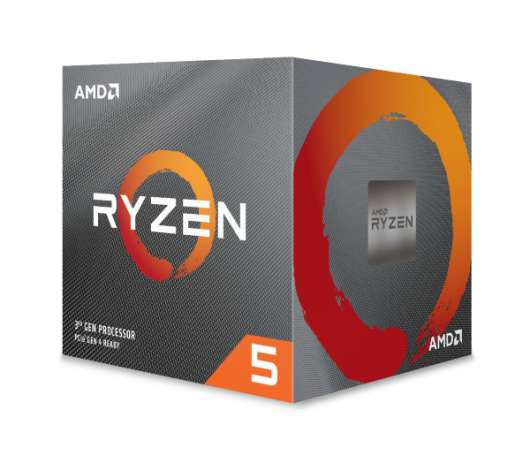 AMD Ryzen 5 3600XT / 6 cores / 12 threads / 4,5 GHz