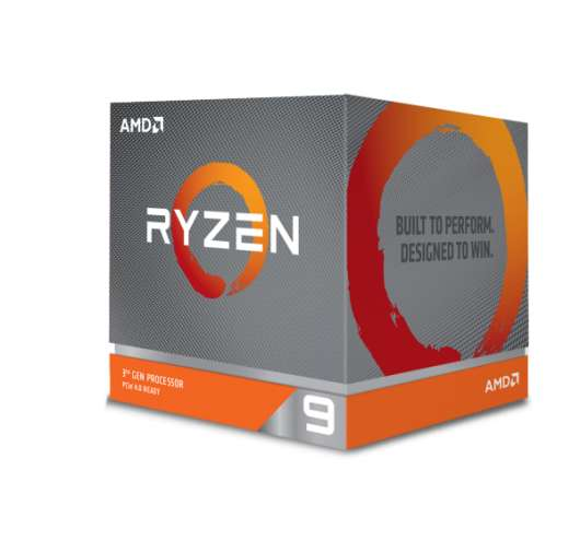 AMD Ryzen 9 3900X / 12 cores / 24 threads / 4.6 GHz