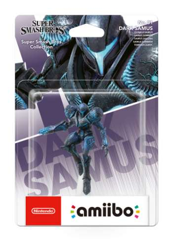 Amiibo Dark Samus (Super Smash Bros. Collection No 81)