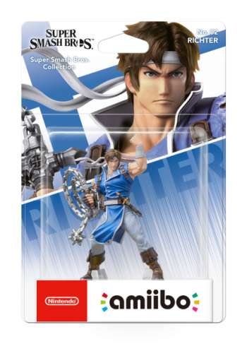 Amiibo  Richter Belmont (Super Smash Bros. Collection No 82)