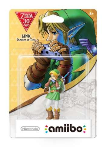 Amiibo Zelda - Link Ocarina of Time