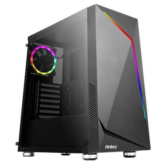 Antec NX300 / A-RGB / Tempered Glass - Svart
