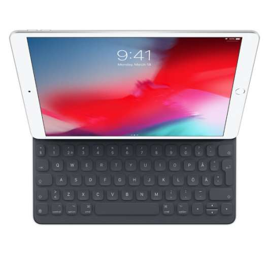 "Apple iPad 7th gen. 10.2"" och iPad Air 10.5"" 3rd gen. Smart Keyboard Folio (Fyndvara - Klass 1)"