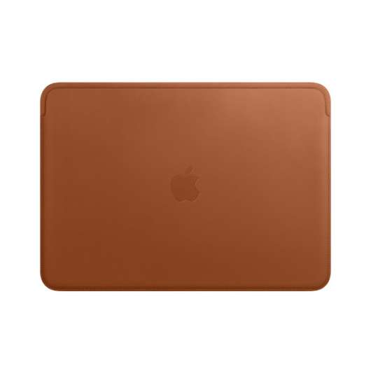 "Apple Leather Sleeve Macbook Pro 13"" - Saddle Brown (Fyndvara - Klass 1)"