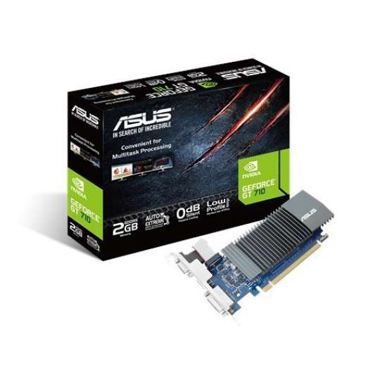 ASUS GeForce GT 710 2GB (GT710-SL-2GD5) (Fyndvara - Klass 1)