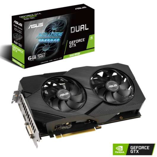 ASUS GeForce GTX 1660 Super 6GB DUAL EVO OC (Fyndvara - Klass 1)