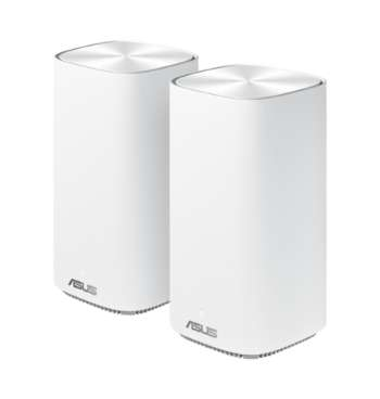Asus ZenWiFi AC Mini CD6 - AC1500  / Mesh / Vit - 2-Pack