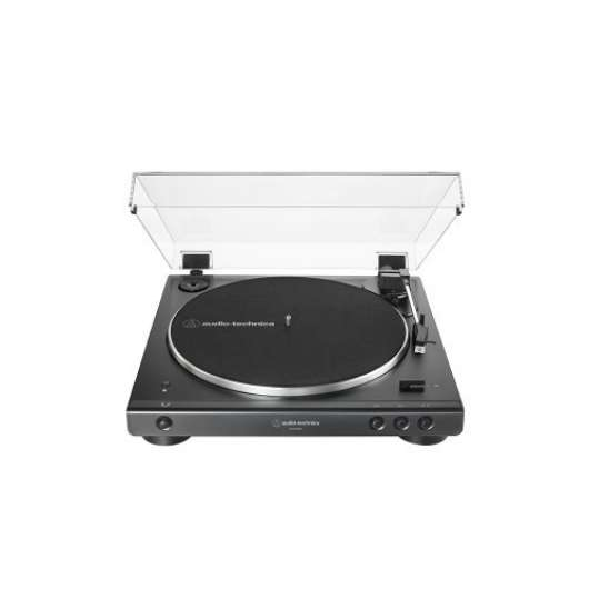 Audio Technica AT-LP60X Skivspelare med bluetooth - Svart (Fyndvara - Klass 1)