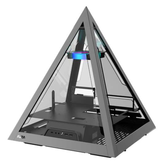 Azza Pyramid 804 / A-RGB / Tempered Glass