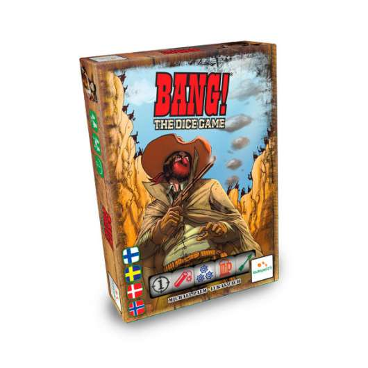 Bang! The Dice Game (Nordic)
