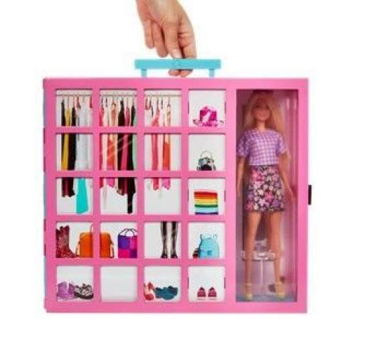 Barbie Fashionistas Dream Closet med docka