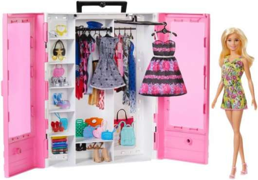 Barbie Fashionistas Ultimate Closet med docka