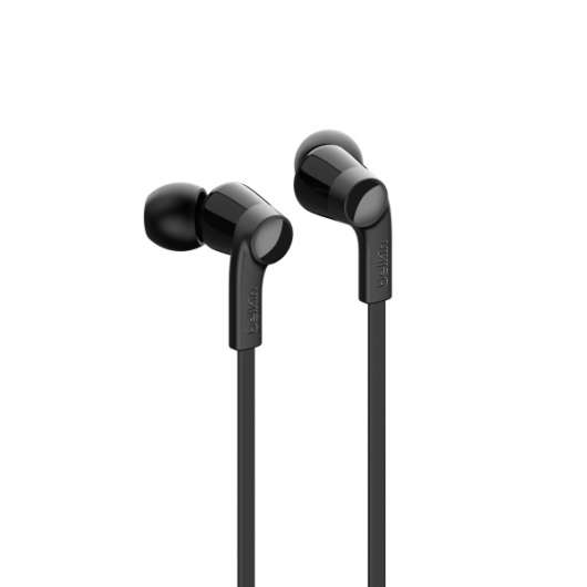 Belkin - USB-C IN-EAR HEADPHONE - Svart