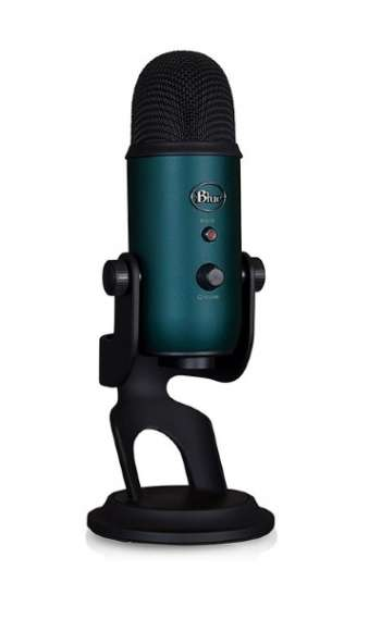 Blue Yeti Black & Teal