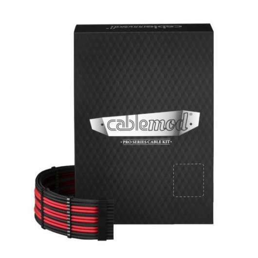 CableMod PRO ModMesh C-Series RMi RMx Cable Kit - black/red (Fyndvara - Klass 1)