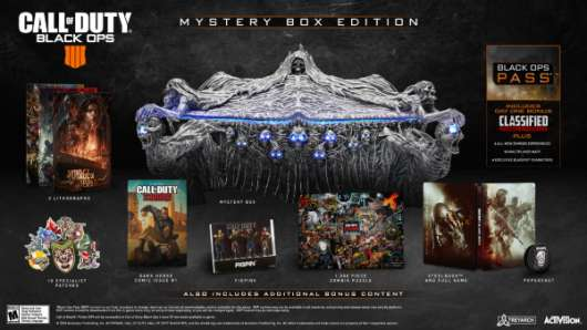 Call of Duty (COD) Black Ops 4 - Mystery Box Edition (Fyndvara - Klass 1)