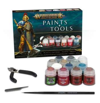 Citadel Age of Sigmar Paint set with tools