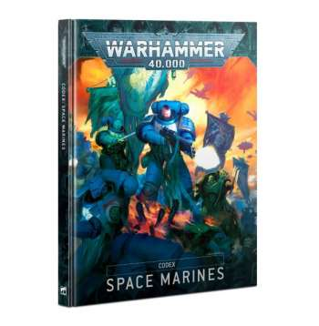 Codex: Space Marines (Hardback) (Eng)