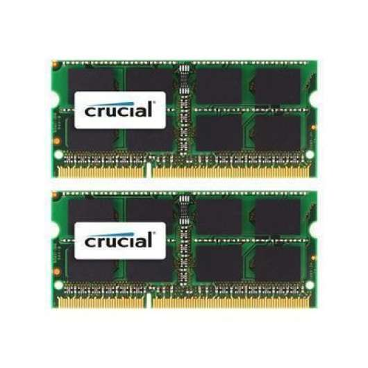 Crucial 16GB (2x8GB) / 1333MHz / DDR3 / CL9 / CT2K8G3S1339M (Apple)