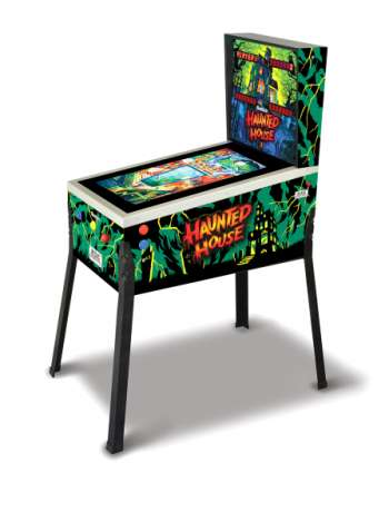 Digital Pinball Haunted House med 12 spel