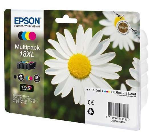 Epson T1816 XL Multipack 31.3ml