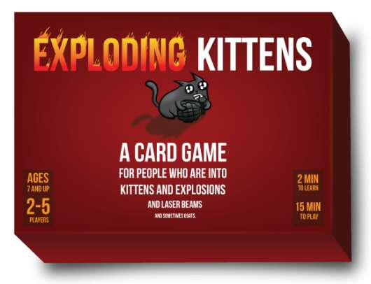 Exploding Kittens 1st Edition Meowing Box (Engelsk)