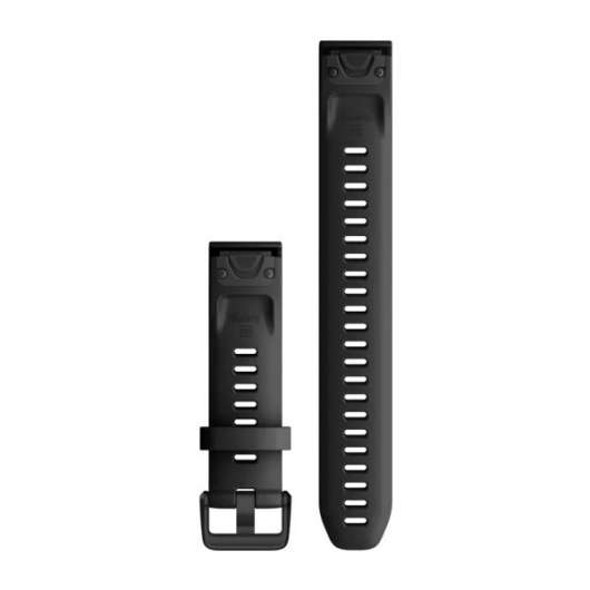 Garmin QuickFit 20 Large Silicone Band - Black