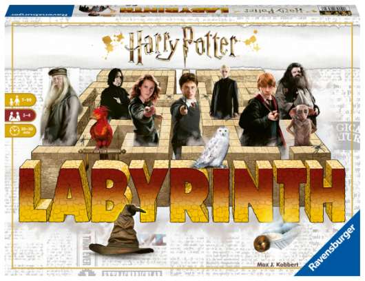 Harry Potter Labyrint (Nordisk)