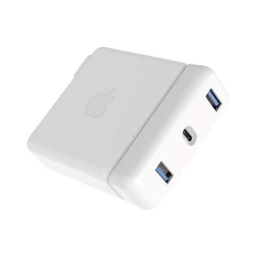 "Hyperdrive USB 3.0-hubb för Macbook Pro 13"" laddare 61 W"