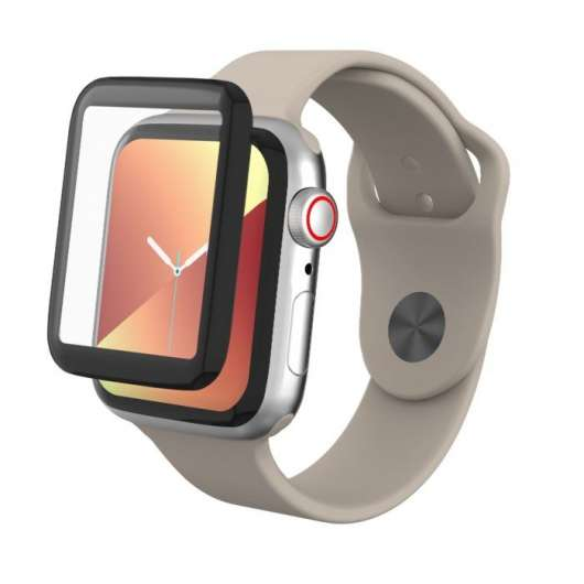 Invisible Shield Glass Fusion för Apple Watch 4/5/6 och SE, 40 mm