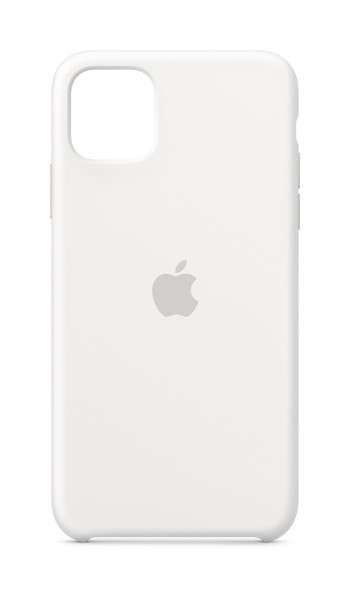 iPhone 11 Pro Max / Apple / Silicone Case - Vit
