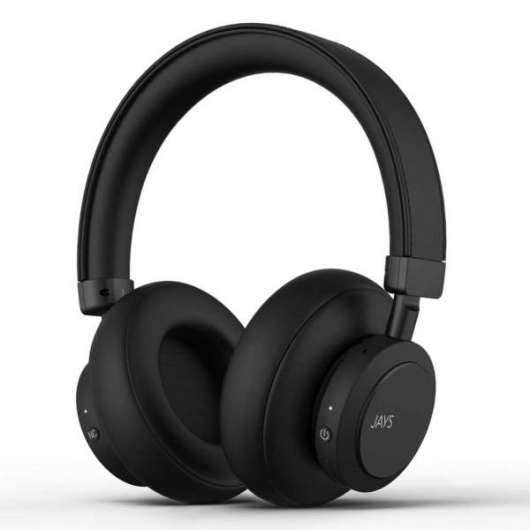 Jays q-Seven Wireless / ANC - Svart