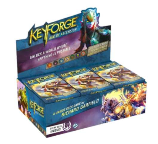 KeyForge Age of Ascension Deck Display (12-pack)