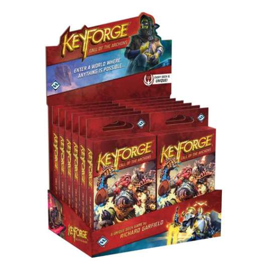KeyForge: Call of the Archons Deck Display (12-pack)