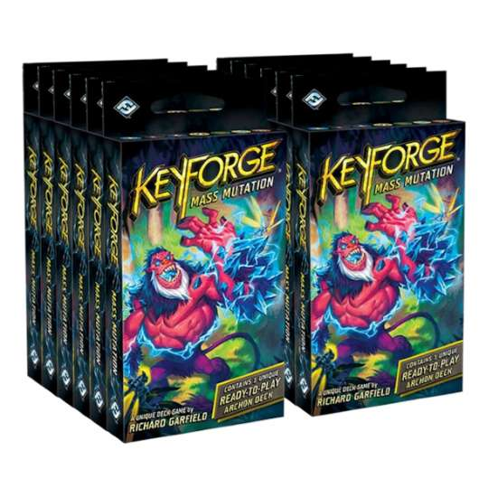 KeyForge Mass Mutation Archon Deck (12-pack)
