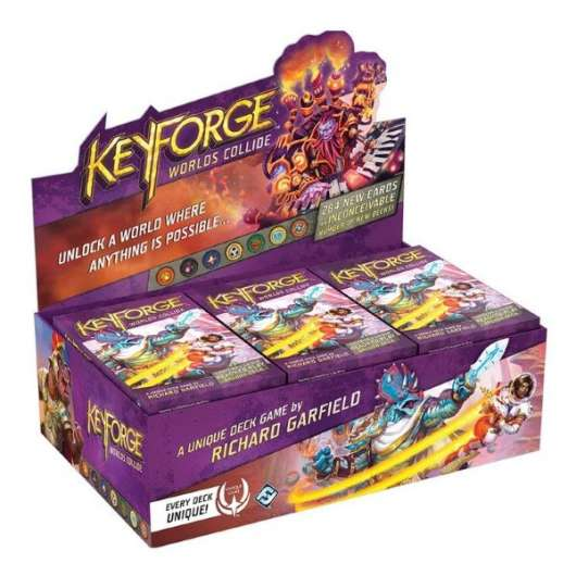 KeyForge Worlds Collide Archon Deck Display (12-pack)