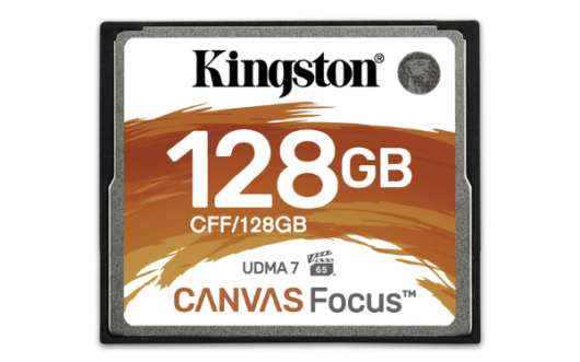 Kingston Canvas Focus CF 150MB/s - 128GB