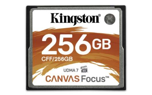 Kingston Canvas Focus CF 150MB/s - 256GB