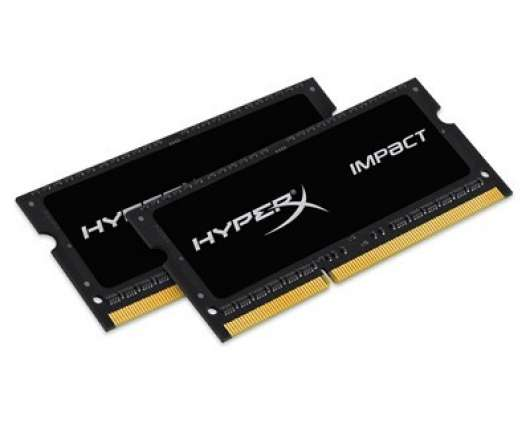 Kingston HyperX Impact 16GB (2x8GB) 1600MHz / DDR3L / CL9 (HX316LS9IBK2/16)